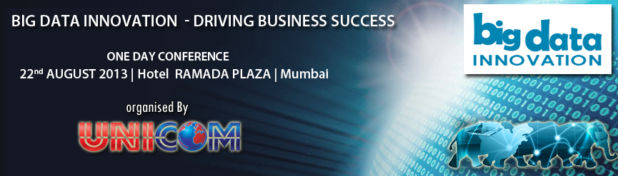 Big Data Innovation – Driving Business Success – Conference in Mumbai